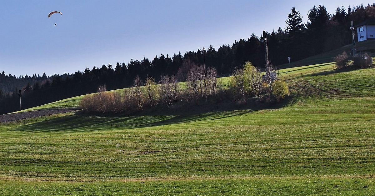 Fotografiert von Gatterlacken - etwa 16:45 Uhr - Willi Groiß